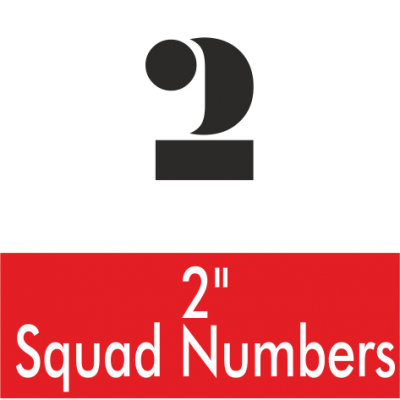2 Inch Squad Numbers