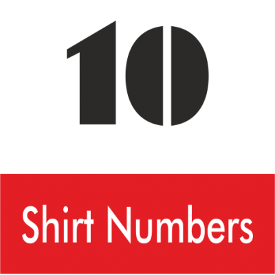Shirt Numbers