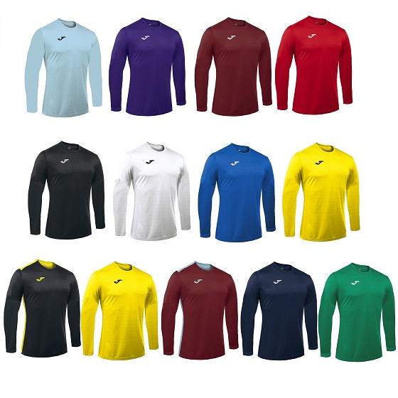 Joma Campus II Long Sleeve Football Shirt Adults - Premier Teamwear 3c8208110