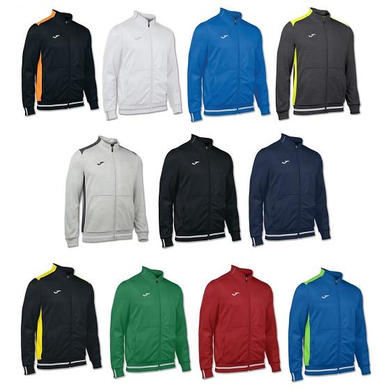 6c1371954be53 Joma Campus II Fleece Polyester Jacket Adults - Premier Teamwear