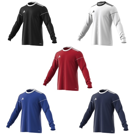 63919f41f0c4 Adidas Squadra 17 Long Sleeve Football Shirt Adult - Premier Teamwear