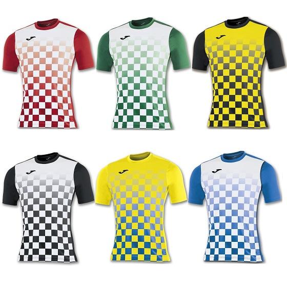 Joma Flag Short Sleeve Football Shirt Kids b29df15a2