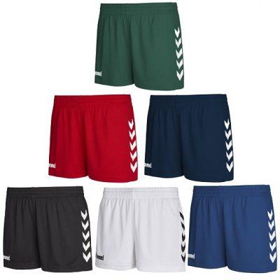 hummel wmns core poly shorts multi