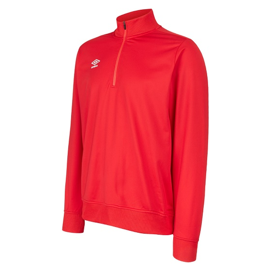 Umbro Club Essential Half Zip Sweatshirt Adults