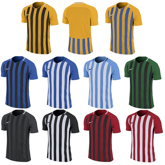 Nike Striped Division III Short Sleeve Jersey Kids 3235576cf