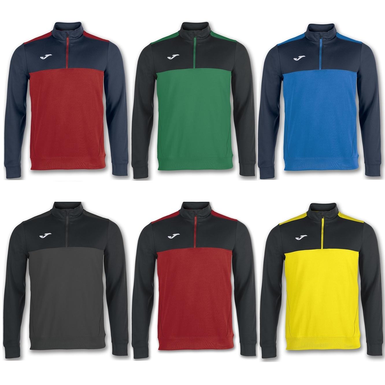 32c662a4ba50e Joma Winner 1 4 Zip Sweatshirt Adults - Premier Teamwear