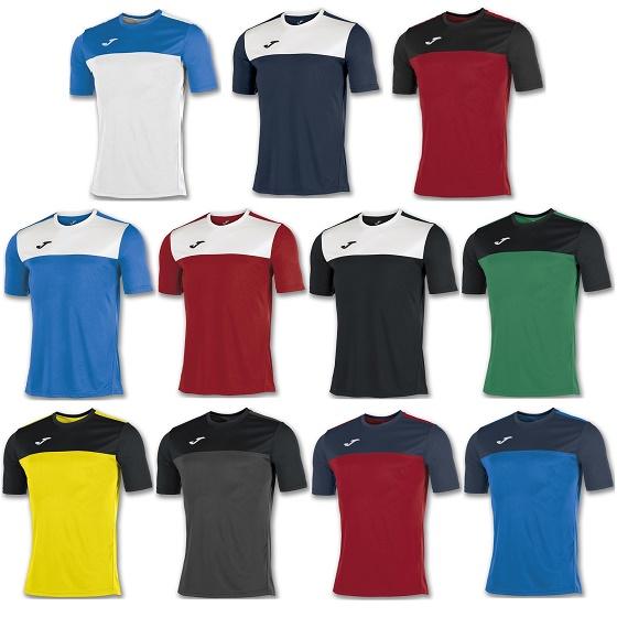 02b6bcd9c22 Joma Winner Short Sleeve Football Shirt Adults - Premier Teamwear