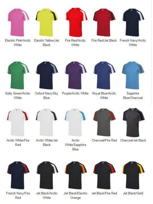 Contrast Team Shirt