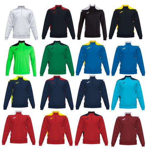 Joma Championshio VI 1/2 Zip Sweatshirt