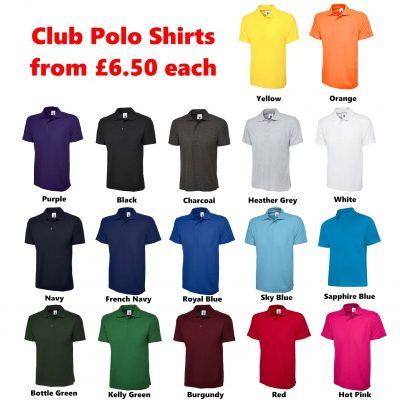 Club Polo Shirts